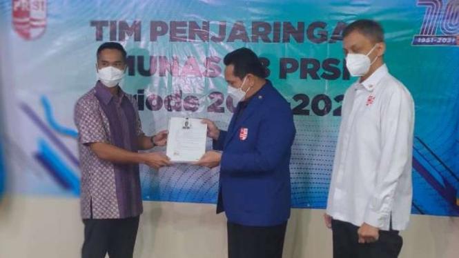 Anindya Bakrie resmi mencalonkan diri sebagai Ketum PRSI 2021-2025