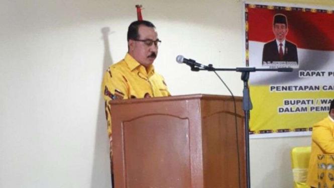 Politisi Senior Partai Golkar, Azis Samual.