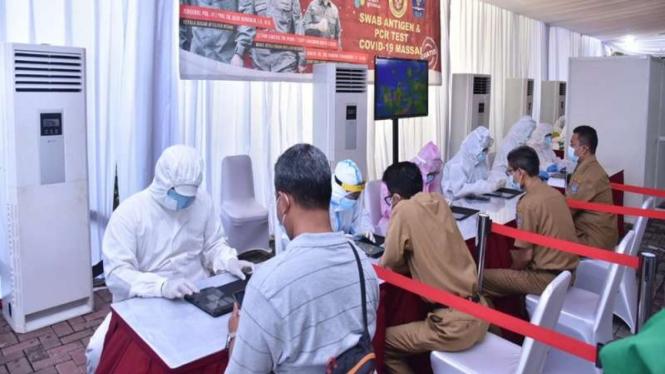 Rapid test antigen COVID-19 di Tangerang Selatan