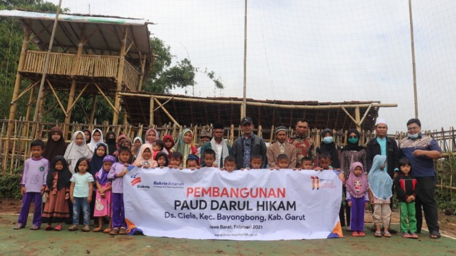 PAUD di Kampung Koropeak, Desa Ciela, Kecamatan Bayongbong, Kabupaten Garut.