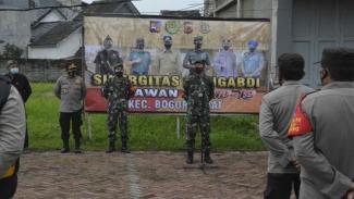 VIVA Militer: Danrem 061/Surya Kencana Pimpin Apel 3 Pilar Pelaksanaan PPKM