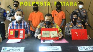 Polresta Mataram ungkap dua pelaku pengedar narkoba