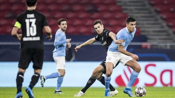 Pertandingan Borussia Moenchengladbach vs Manchester City