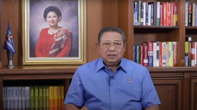 Ketua Majelis Tinggi Partai Demokrat Susilo Bambang Yudhoyono (SBY)