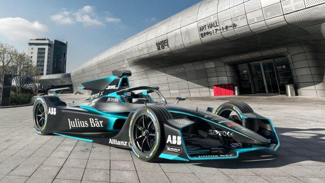 Mobil balap Formula E Spark Gen2 EVO