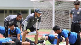 Timnas Indonesia U-22 saat pemusatan latihan di Jakarta