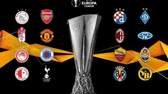Peserta 16 besar Liga Europa 2020/21.
