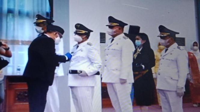 Gubernur Kalimantan Barat Sutarmidji melantik lima Bupati dan Wakil Bupati