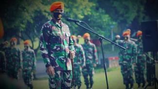 VIVA Militer: Komadan Yonko 461, Letnan Kolonel Helmi Ardiyanto Nange