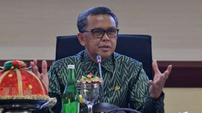 Eks Gubernur Sulawesi Selatan Nurdin Abdullah.