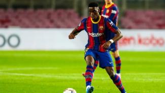 Pemain muda Barcelona, Ilaix Moriba.
