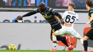 Pertandingan Inter Milan vs Genoa dalam lanjutan Serie A 2020/2021