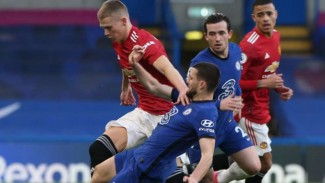 Duel Chelsea vs Manchester United.