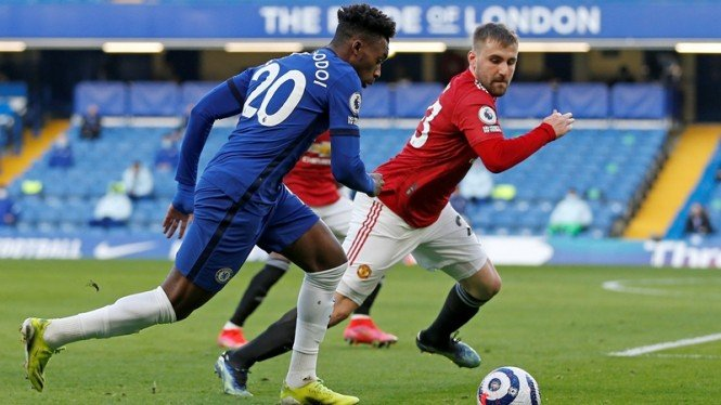 Pertandingan Chelsea vs Manchester United