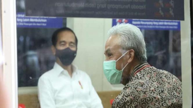 Gubernur Jateng dampingi Presiden Jokowi coba KRL Jogja-Solo