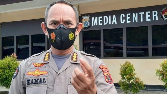 Kabid Humas Polda Papua Kombes Pol Ahmad Musthofa Kamal.