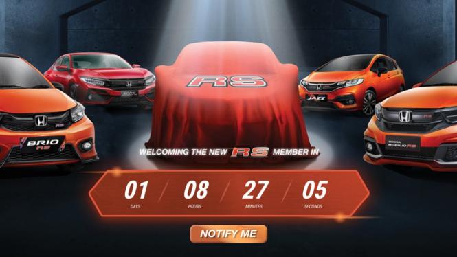 Teaser mobil baru Honda yang akan meluncur di Indonesia