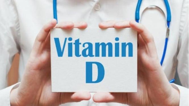 Ilustrasi vitamin D.