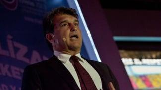 Presiden Barcelona terpilih, Joan Laporta