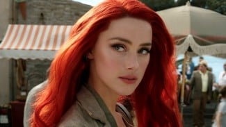 Amber Heard di film Aquaman.