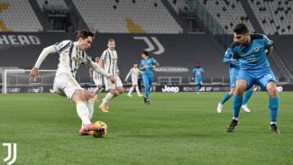 Pertandingan antara Juventus vs Spezia di Serie A 2020/21