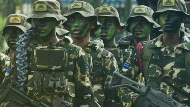 VIVA Militer: Anggota Batalyon Intai Amfibi (Yontaifib)