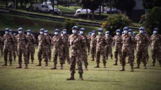 VIVA Militer: Pasukan Perdamaian Satgas Konga TNI