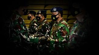 VIVA Militer: Serah terima jabatan Panglima Komando Operasi I TNI AU.