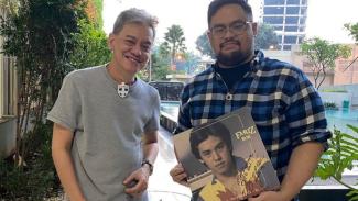 Musisi legendaris Fariz RM dan Adri Kumara
