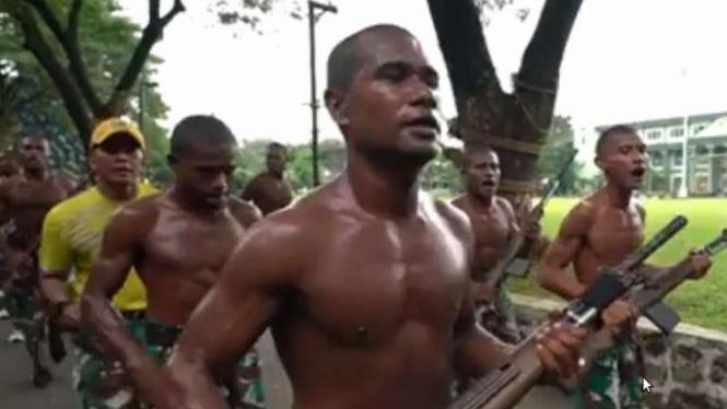 VIVA Militer: Falen Mariar prajurit TNI mantan pemain AC Milan Camp Junior