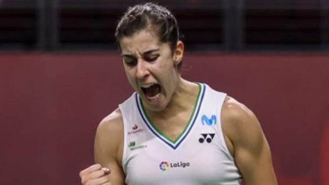 Tunggal putri Spanyol, Carolina Marin.