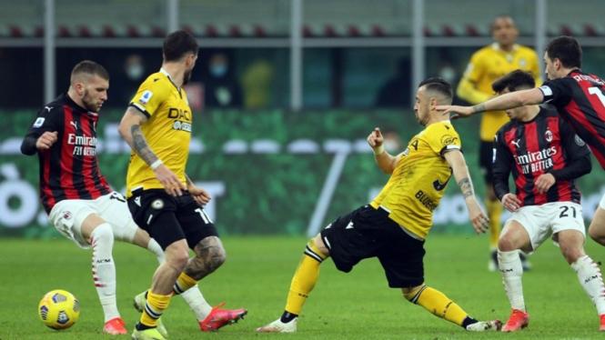 Pertandingan AC Milan vs Udinese