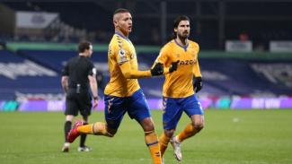 Pemain Everton, Richarlison. (kiri)