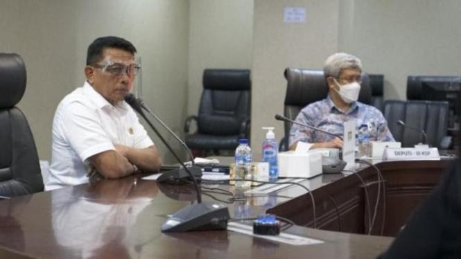 Kepala KSP Moeldoko temui perwakilan nasabah Jiwasraya