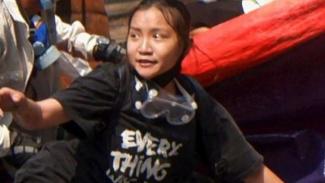 Angel gadis 19 tahun tewas ditembak militer Myamar