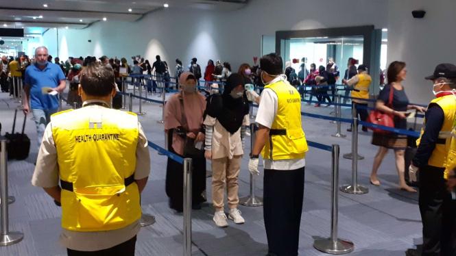 Pemeriksaan di Pintu Masuk Bandara Internasional Soekarno-Hatta