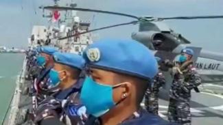 VIVA Militer: Prajurit Satgas TNI MTF Konga XVIII-M/UNIFIL berangkat ke Lebanon
