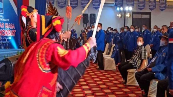 KLB Partai Demokrat di Sibolangit, Kabupaten Deli Serdang, Sumatera Utara