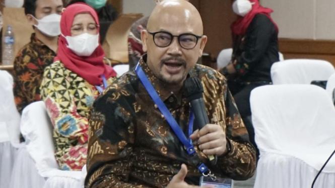 Kepala BPPT, Hammam Riza pada webinar hari kedua Rakernas BPPT Tahun 2021