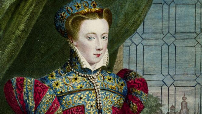 Ratu Skotlandia, Mary.
