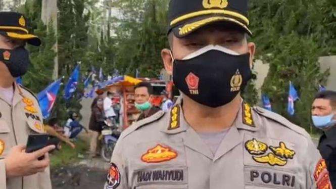 Kabid Humas Polda Sumut, Kombes Pol Hadi Wahyudi.