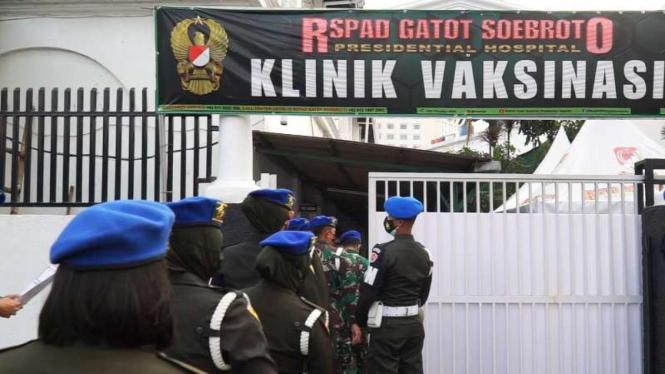 VIVA Militer: Ratusan prajurit Puspomad menerima vaksin Sinovac COVID-19