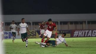Duel Timnas Indonesia U-22 vs Tira Persikabo