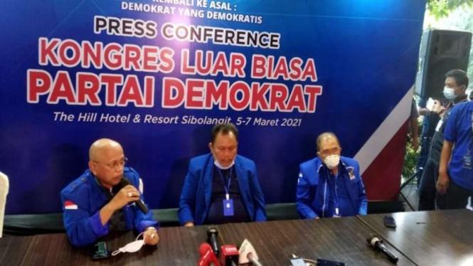 Jhoni Allen, Pimpinan KLB Partai Demokrat versi Sibolangit, Deli Serdang Sumut