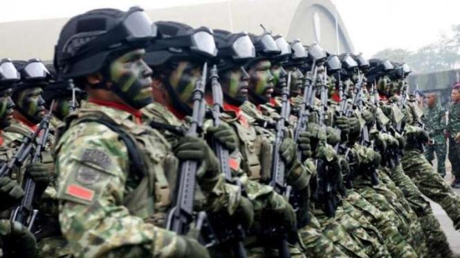 VIVA Militer: Prajurit Komando Cadangan Strategis TNI Angkatan Darat (Kostrad)
