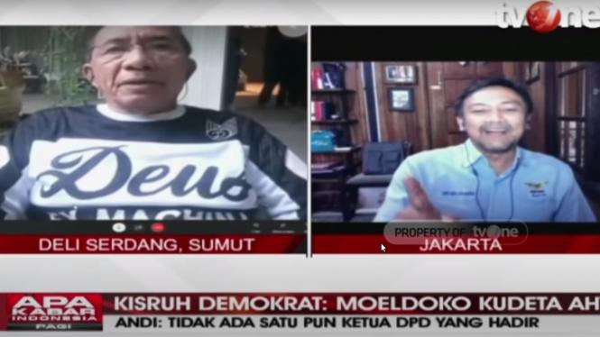 Debat Max Sopacua dengan Andi Mallarengeng di tvOne