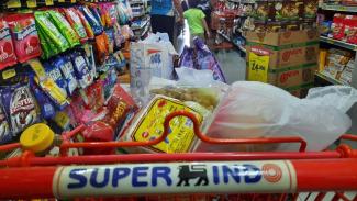 Belanja di Superindo.