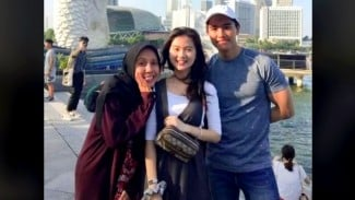 Beredar di TikTok, foto Kaesang, Felicia dan Nadya Arifta saat di Singapura