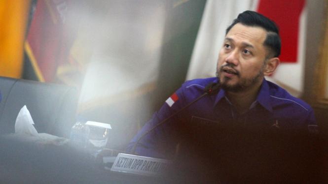 Ketum Demokrat hasil Kongres V Jakarta, Agus Harimurti Yudhoyono (AHY)