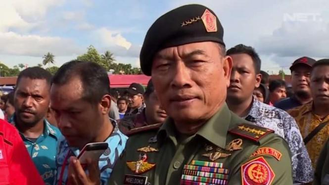 VIVA Militer: Jenderal TNI (Purn.) Moeldoko saat menjabat Panglima TNI